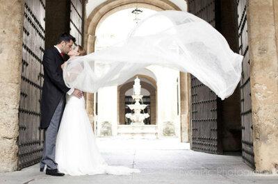 Inspiración para novias: Una tradicional boda llena de magia en Sevilla