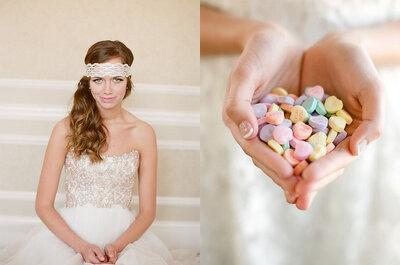 La foto de la semana: una novia muy dulce