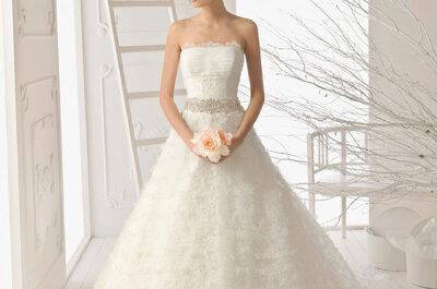 Für romantische Bräute – Brautkleider von Aire Barcelona