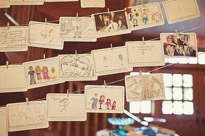 Enmarca la decoración de tu boda con fotografías ultra originales