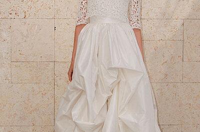 Selección de vestidos de novia blancos 2012