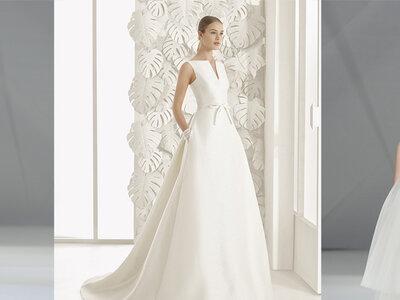Zoom sur les coupes de robes de mariée les plus marquantes vues sur les podiums