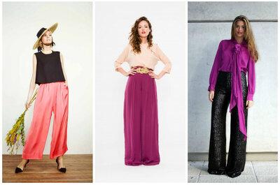 Selección de pantalones para invitadas a una boda