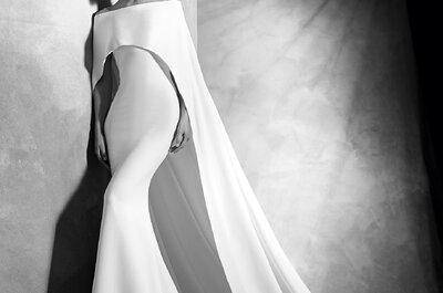 42 impresionantes vestidos de novia perfectos para tu boda en invierno