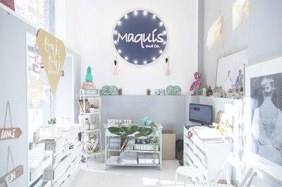 Buscando lo mejor para mi boda en la 5ª pop up de bodas en Maquis&Co