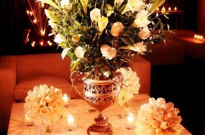 Qué tener en cuenta para los centros de mesa de tu boda, por Victoria Randazzo