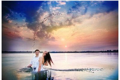 Wet the dress, czyli scenariusze sesji ślubnej z wodą w roli głównej