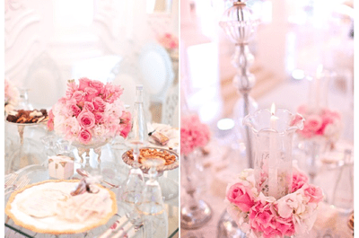 Real Decor: Majestical wedding decor fit for a princess