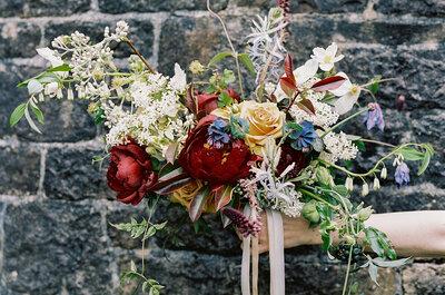 Buquês de noiva com flores silvestres: inove em 2015!