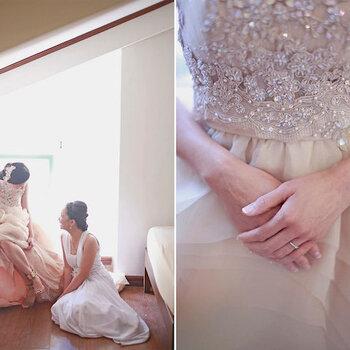 Real Wedding: Te emocionarás al máximo con esta ceremonia fantástica en color blanco