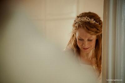 Inspiração para noivas: arco de cabelo