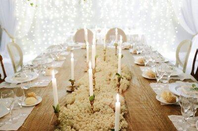Um casamento no Natal? Claro que sim! Saibam como conseguir a decoração perfeita!