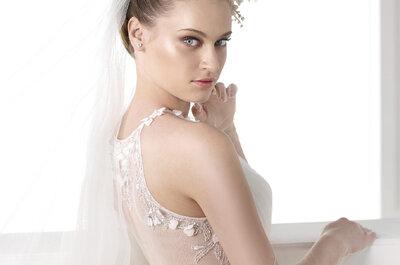 25 vestidos de noiva incríveis Pronovias 2015 com as costas trabalhadas