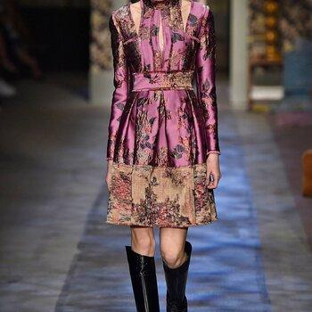 Erdem otoño 2015: Musas envueltas en color, emoción y glamour
