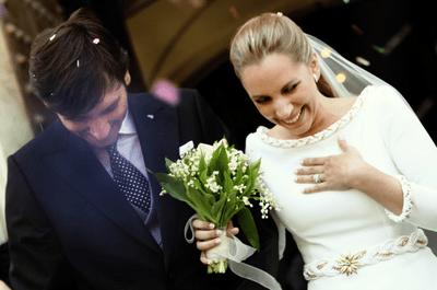 Il matrimonio da sogno di  Maria Luisa e Andrés nel Parador di Cadice