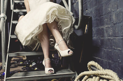 Editor's Friday Favourite: A beautiful vintage-style bridal shoe for you