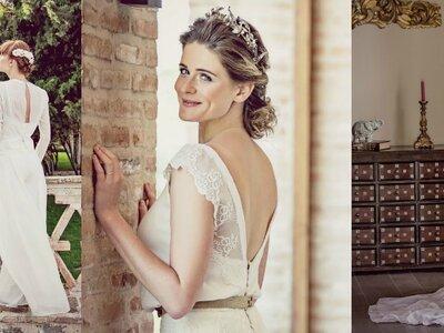 Editorial Zankyou na Espanha: a beleza da noiva entre muros medievais e jardins impressionantes!