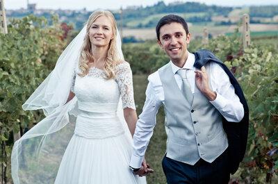 Una favola nata da una coincidenza: il real wedding di Elena e Saverio
