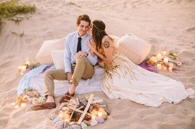 Una boda bohemia en otoño: 5 elementos imprescindibles