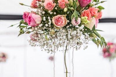 ¡Que esta fecha especial brille también con la mejor decoración de flores en tu ceremonia civil!