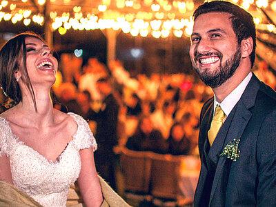 Casamento em casa de Fernanda & Lucas: BOHO, totalmente DIY e ao ar livre!