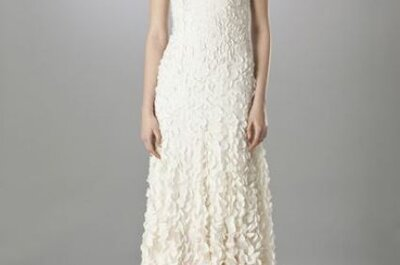 Vestidos de noiva românticos 2014