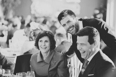 12 mentiras piadosas que los invitados dicen en las bodas