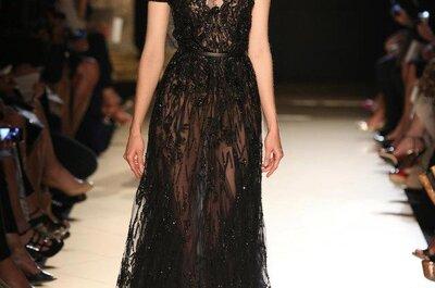 Elie Saab 2013, lujo extremo en vestidos para novias e invitadas de boda