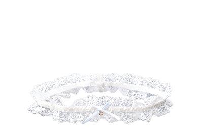 Verspielte Strumpfbänder für die Braut
