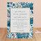 Invitaciones de boda en color azul - Minted