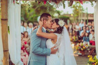 Casamento de Marcella e Rodolfo: em Búzios com direito à bateria da Mangueira