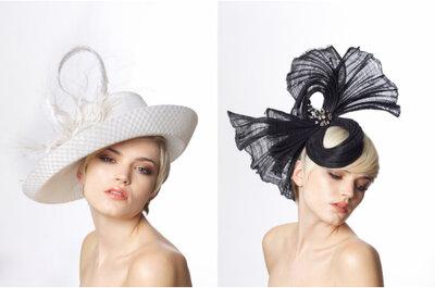 Moda en sombreros para las invitadas de una boda