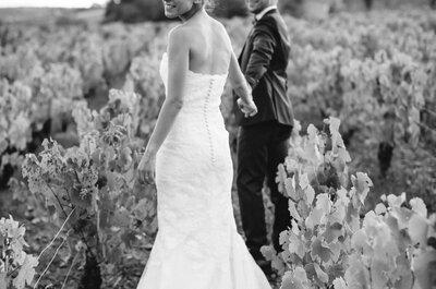Sarah + Thomas : un mariage authentique dans une ancienne ferme du beaujolais