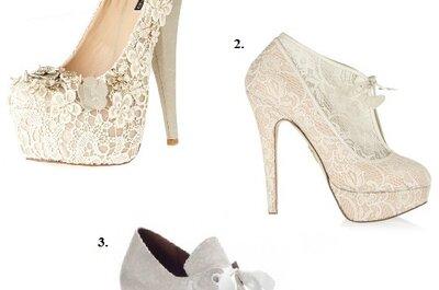 Portez des chaussures de mariée élégantes et originales