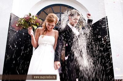 Czym obrzucić Młodą Parę po ślubie? Zamienniki ryżu.