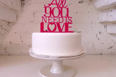 Muñequitos para el pastel de bodas: 10 diseños súper divertidos que podrás encontrar en línea