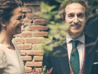 13 años buscándose: la boda de Pilar y Manu