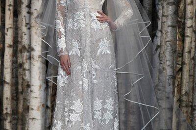 Fantasía envuelta en romance: Todo sobre los vestidos de novia primavera 2015 de Naeem Khan