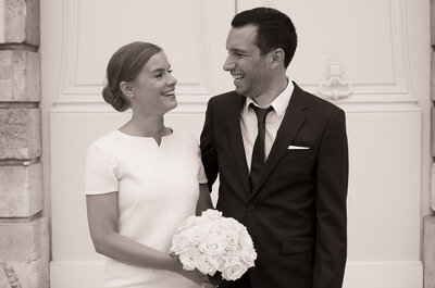 Marie + Romain : leur mariage féerique dans un château de Meurthe-Et-Moselle
