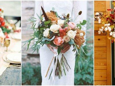 Fleurs d'automne pour votre mariage : des couleurs flamboyantes pour une ambiance unique