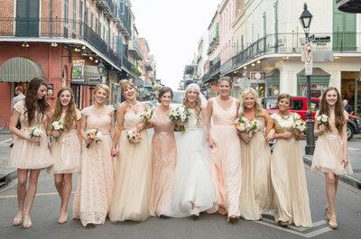 6 tips infalibles para elegir a las damas de boda: Las mejores chicas en tu gran día