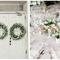 Decoración de boda con divertidas letras - Foto Brooke Images