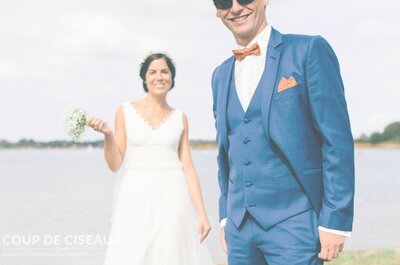 Coup de Ciseaux : costume de marié sur mesure à un excellent rapport qualité prix
