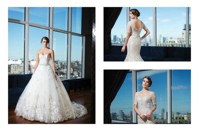 Brautkleider-Kollektion 2014 von Signature - ein Traum in Weiβ
