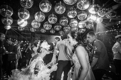 Playlist insuperável para fechar o seu casamento com chave de ouro: é só apertar o PLAY e dançar!