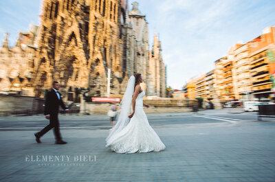 Sesja ślubna w gorącej Barcelonie! Musisz to zobaczyć!