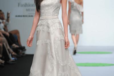 Vestidos de fiesta otoño 2013/14 de JI+B en Mercedes Benz Fashion Week México