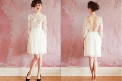 Ein schöner Rücken kann auch entzücken - Brautkleider mit Rückenausschnitt 2013