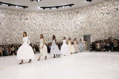 Dior reinventa el lujo con su colección alta costura 2014: Un look glam para las invitadas de boda