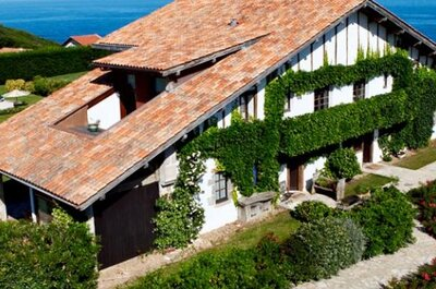 12 lieux de réception dans le Pays Basque où organiser un mariage grandiose !